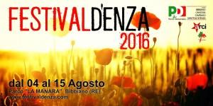 Festivaldenza 2016 fondo giallo papaveri
