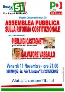cartello assemblea 11 novembre 2016 BIBBIANO A4