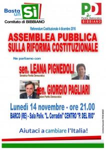 cartello assemblea 14 novembre 2016 BARCO A4