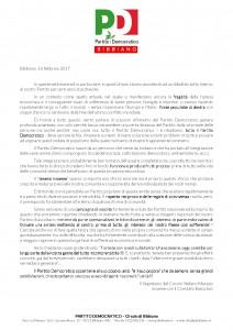 lettera no scissione febbraio 2017